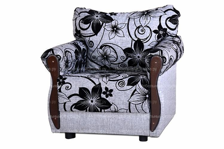 Кресло для отдыха без трансформации Крома цветы