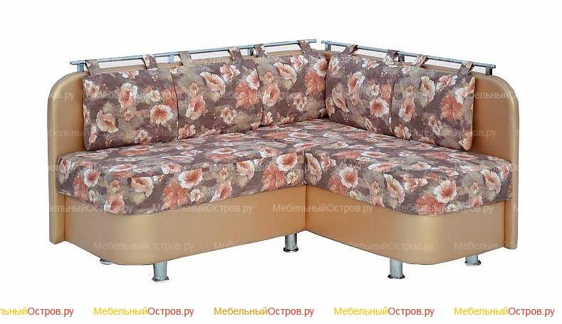 Кухонный диван без трансформации Лагуна угол