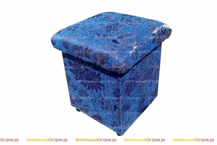 Пуфик без трансформации Кубик (Син)