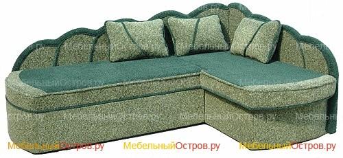 Угловой диван дельфин Алина