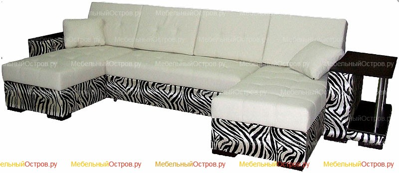 Угловой диван еврокнижка Амазонка