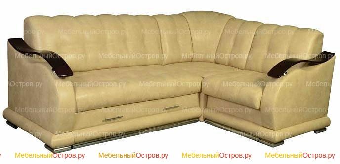 Угловой диван дельфин Барокко (мод 01)