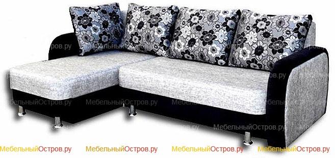 Угловой диван еврокнижка Богема (мод 01)