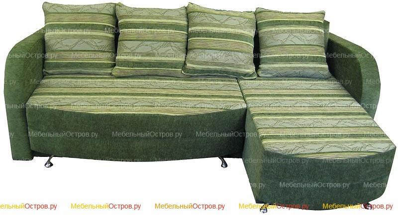 Угловой диван еврокнижка Борнео