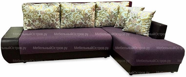 Угловой диван еврокнижка Брайтон