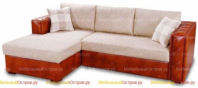 Угловой диван пантограф Бредли