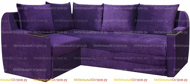 Угловой диван дельфин Дельта-микро