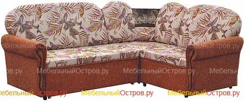Угловой диван выкатной Диана