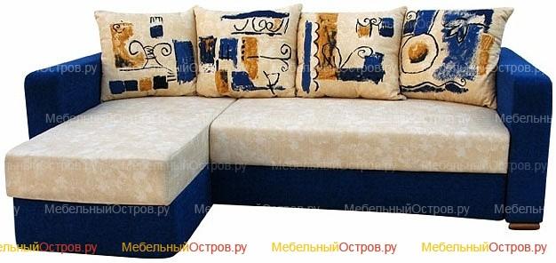 Угловой диван Еврокнижка Громада