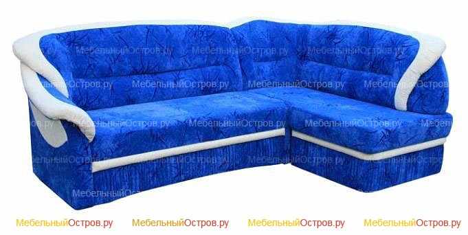 Угловой диван дельфин Искра (мод 01)