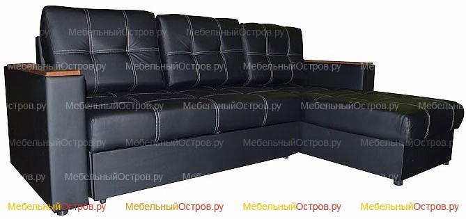 Угловой диван дельфин Камелот