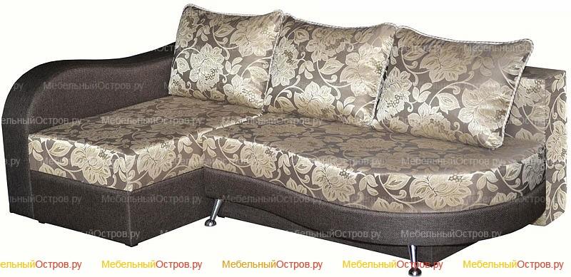 Угловой диван еврокнижка Клеопатра