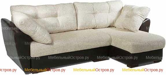 Угловой диван еврокнижка Лера