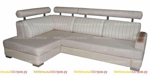 Угловой диван дельфин Милтон (мод 01)