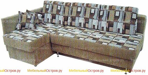 Угловой диван еврокнижка Норд