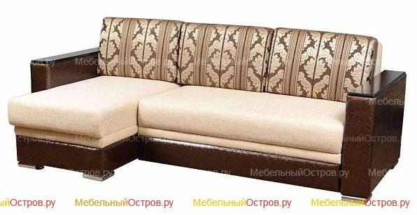 Угловой диван выкатной Пуша (мод 01)